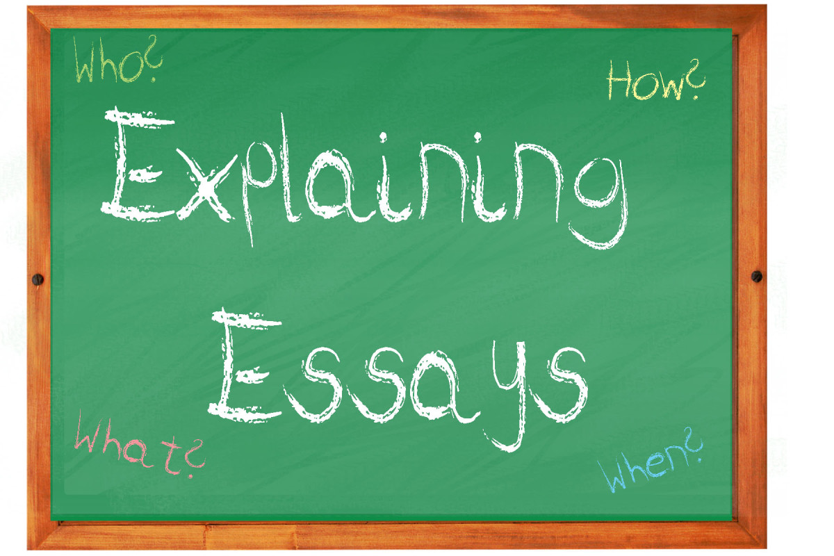 how to write an explaining essay owlcation