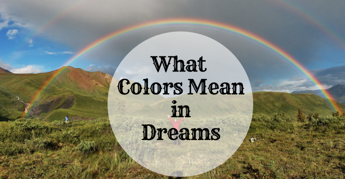 Learn what different colors symbolize in your dreams!