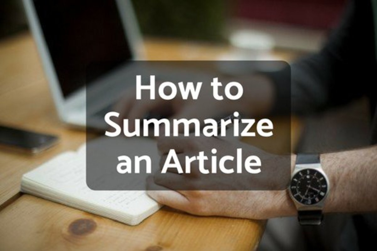 how to write an essay without summarizing