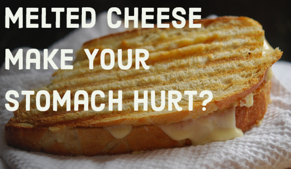 Does cooked cheese give you diarrhea or make your throw up?