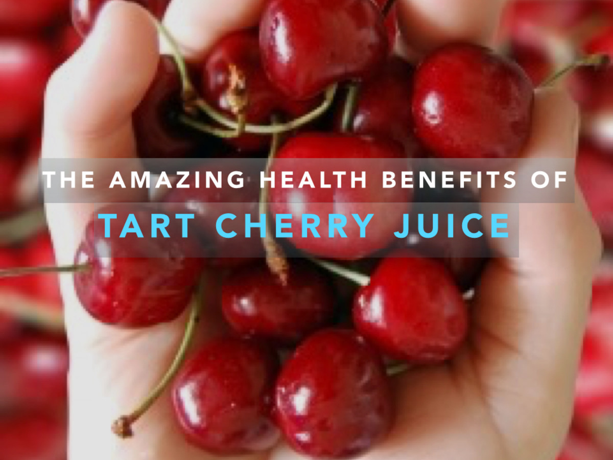 The health benefits of cherries, which are a natural antioxidant rich in potassium known to combat insomnia and gout.
