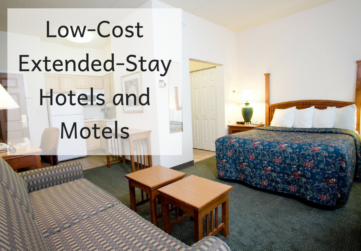 How to Find Low-Cost Extended-Stay Hotels and Motels
