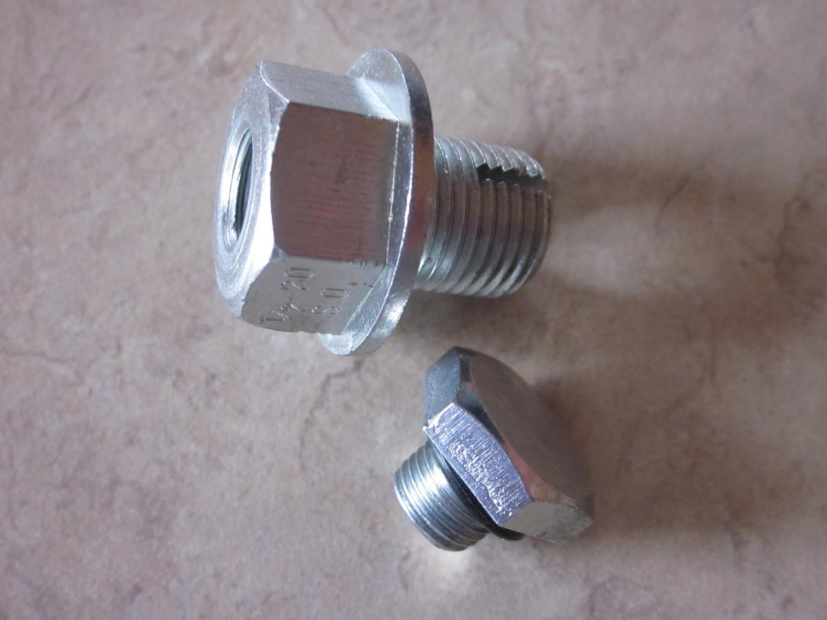 Oil Pan Drain Plug Easy Repair