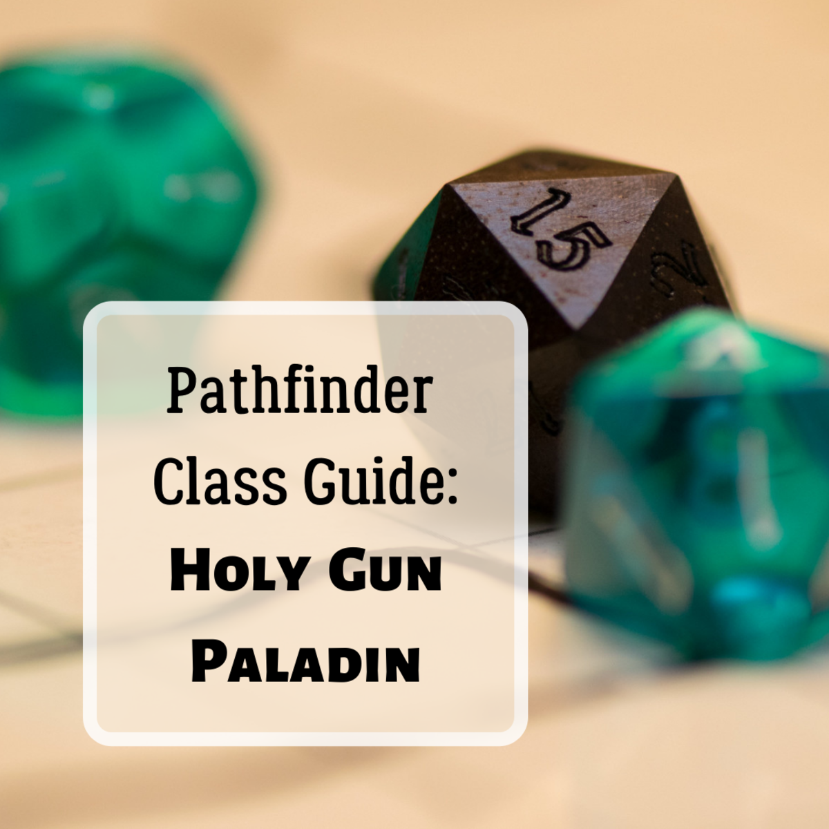 A Guide to the Holy Gun Paladin (Pathfinder)