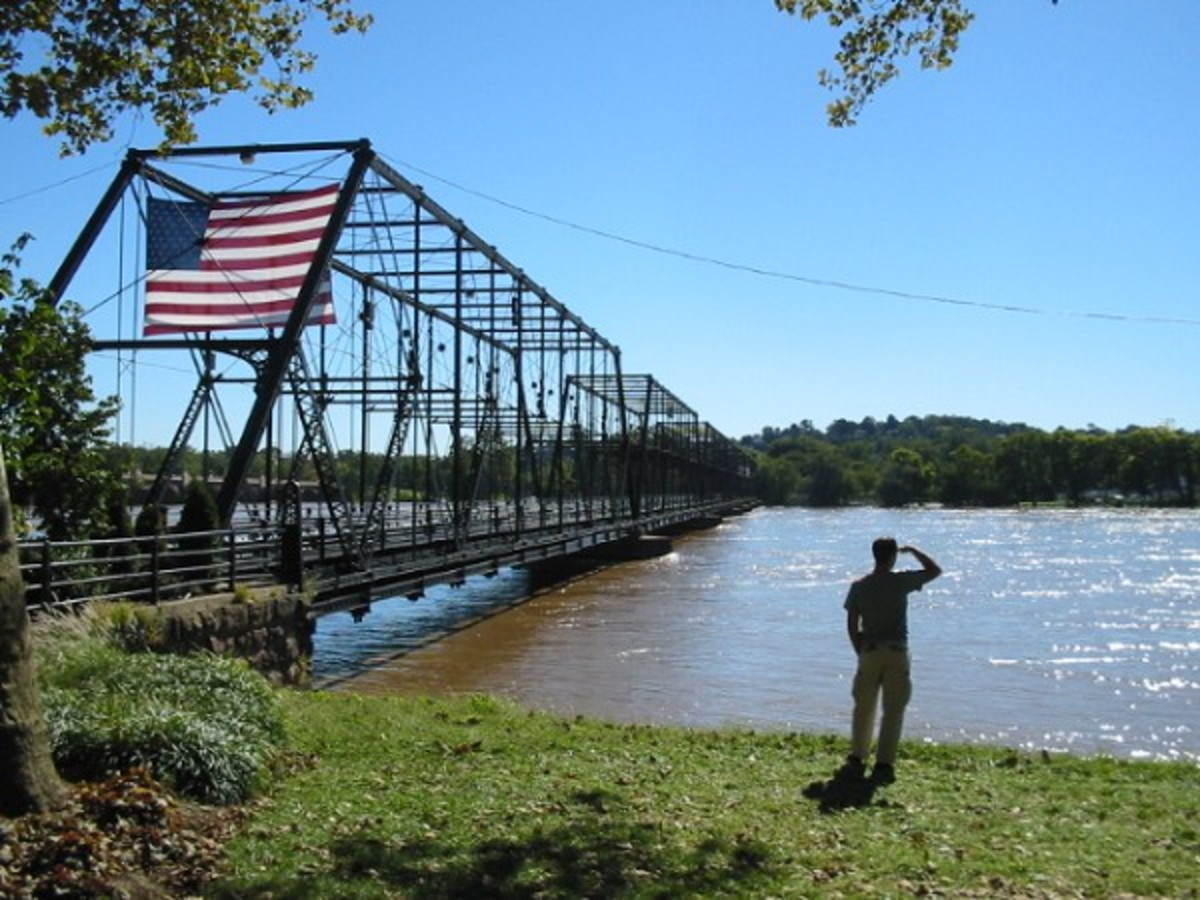 The People Bridge over the Susquehanna River in Pennsylvania.