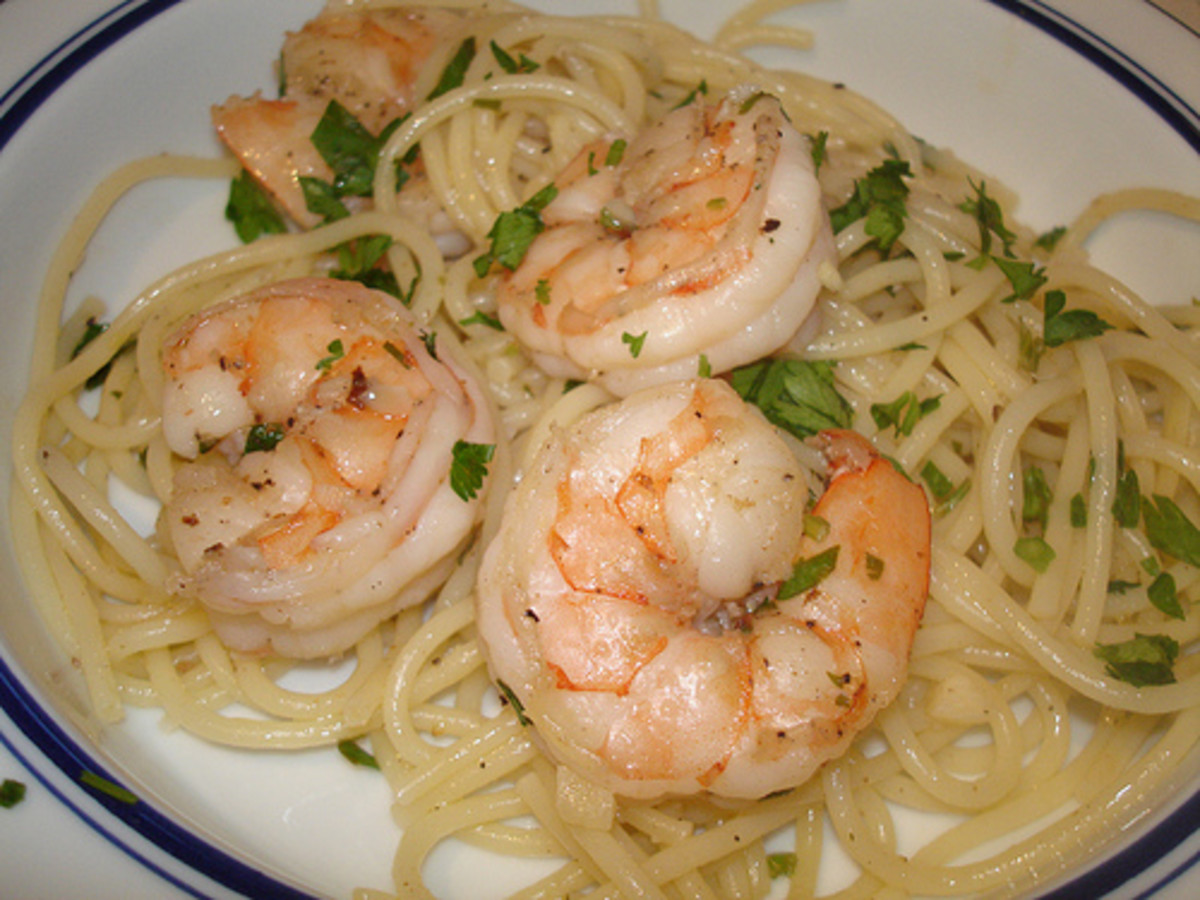 Basic Shrimp Scampi, a Simple Yet Delicious Recipe