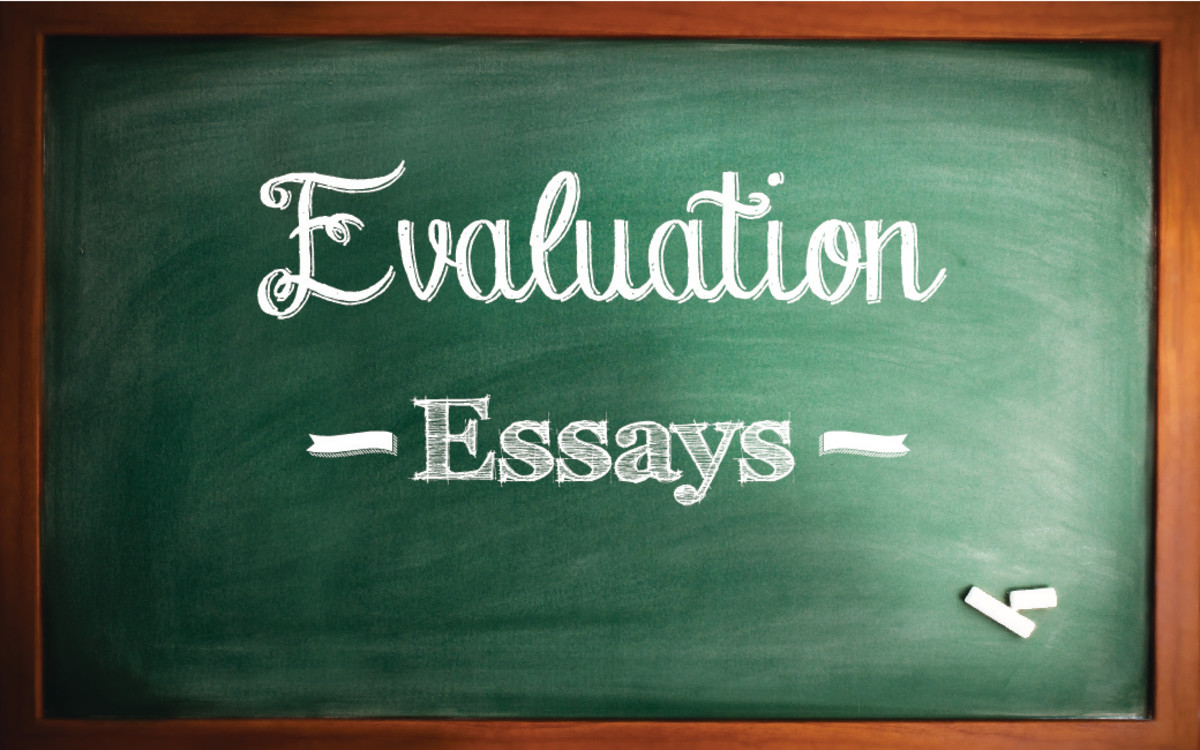 How To Write An Evaluation Paper With Sample Essays  Owlcation How To Write An Evaluation Essay