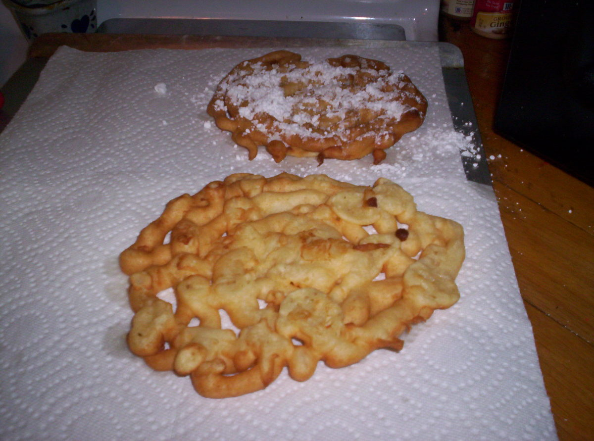 How to Make a Perfect County-Fair Funnel Cake