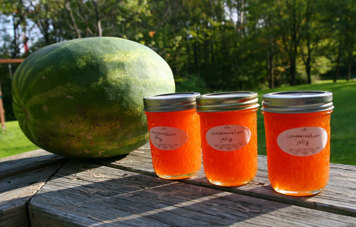 How to Make Watermelon Jelly With Four Simple Ingredients