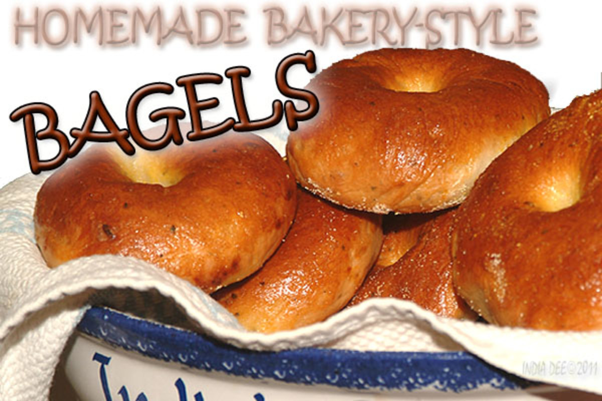 Beautiful Homemade Bakery-style Bagels