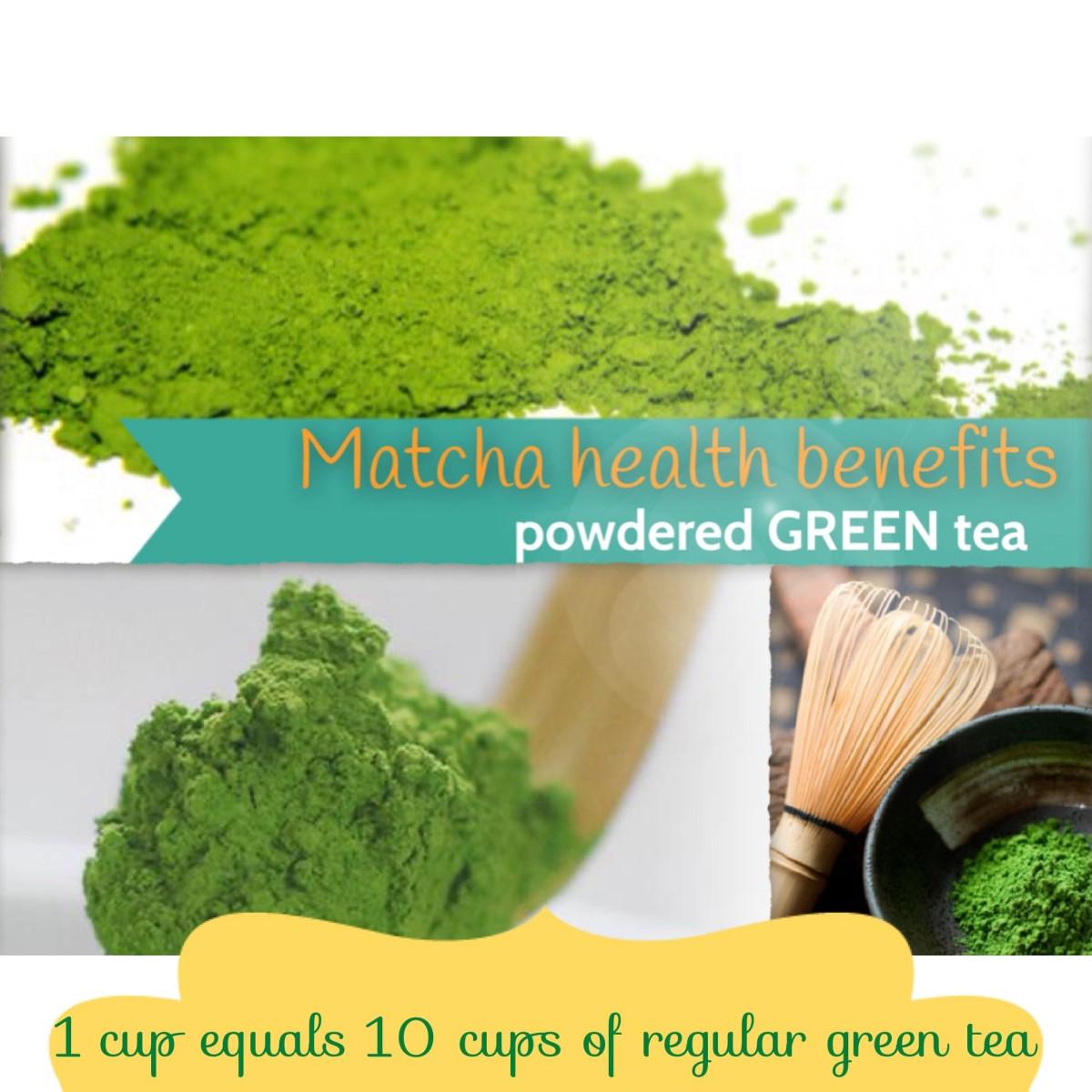 Health Benefits of Matcha: Green Tea Powder