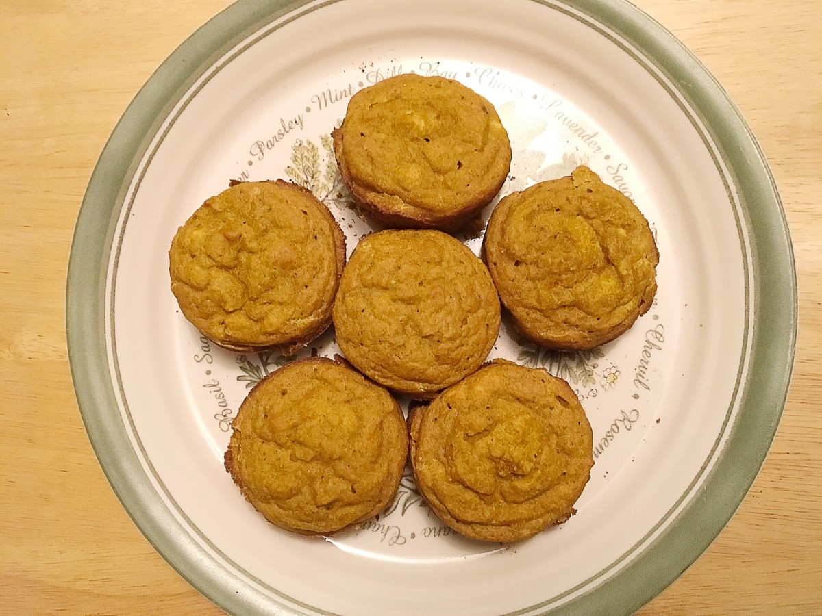 Gluten Intolerance, Flour Facts, and a Pumpkin Muffin Recipe