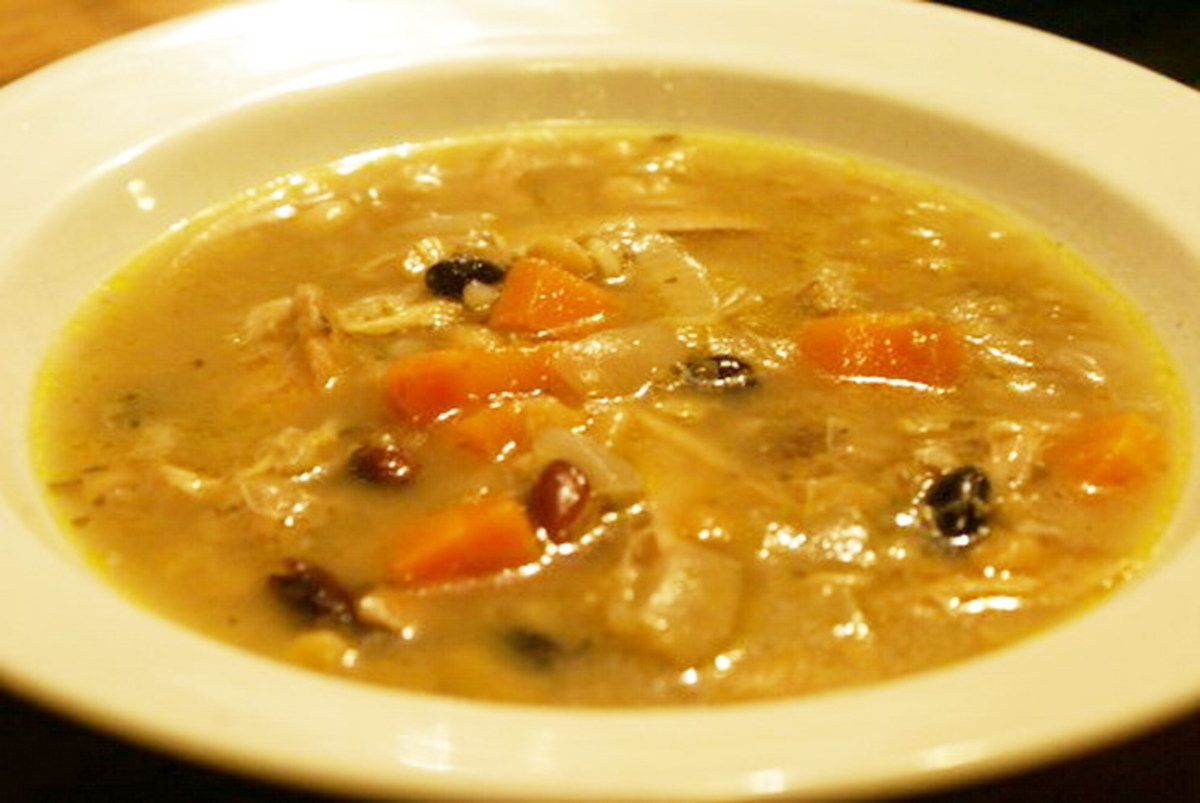 Traditional Scottish Chicken Broth Soup Recipe