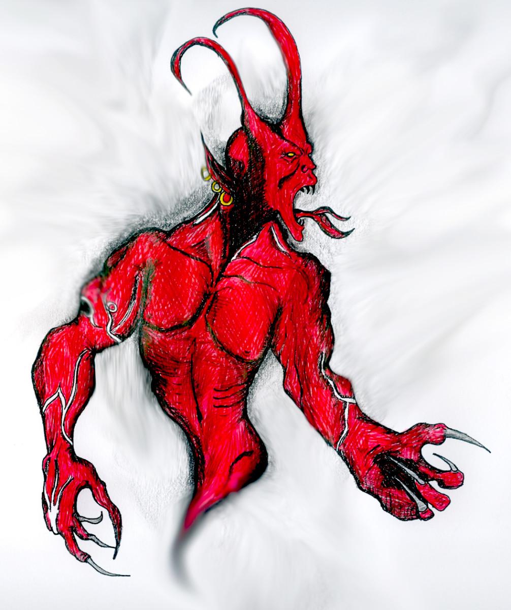 The evil jinn.