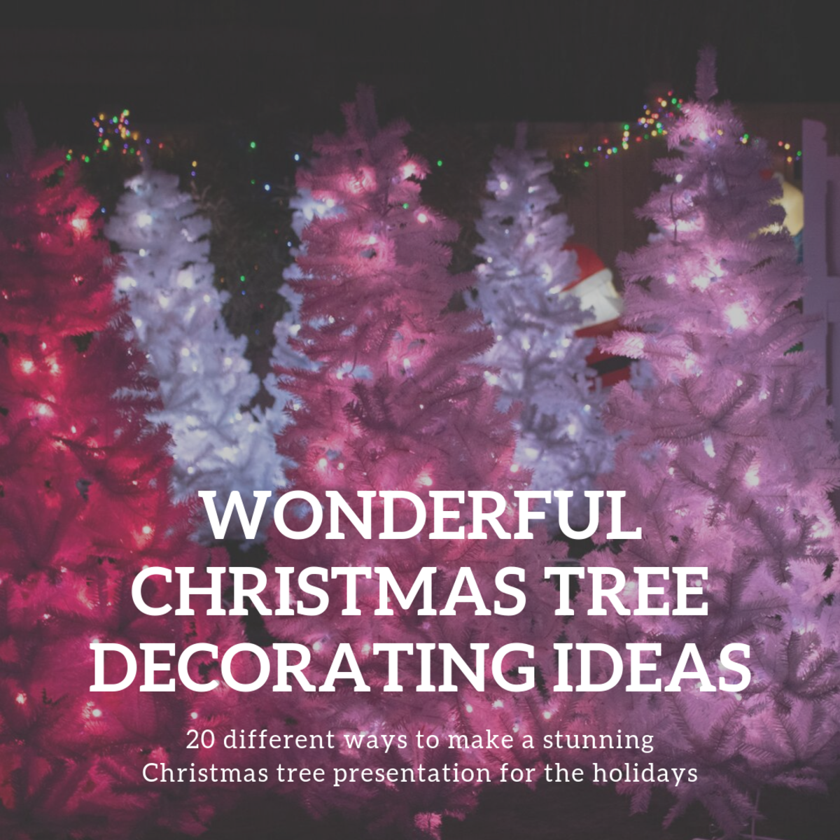 Purple Christmas Tree.20 Stunning Christmas Tree Decorating Ideas Holidappy