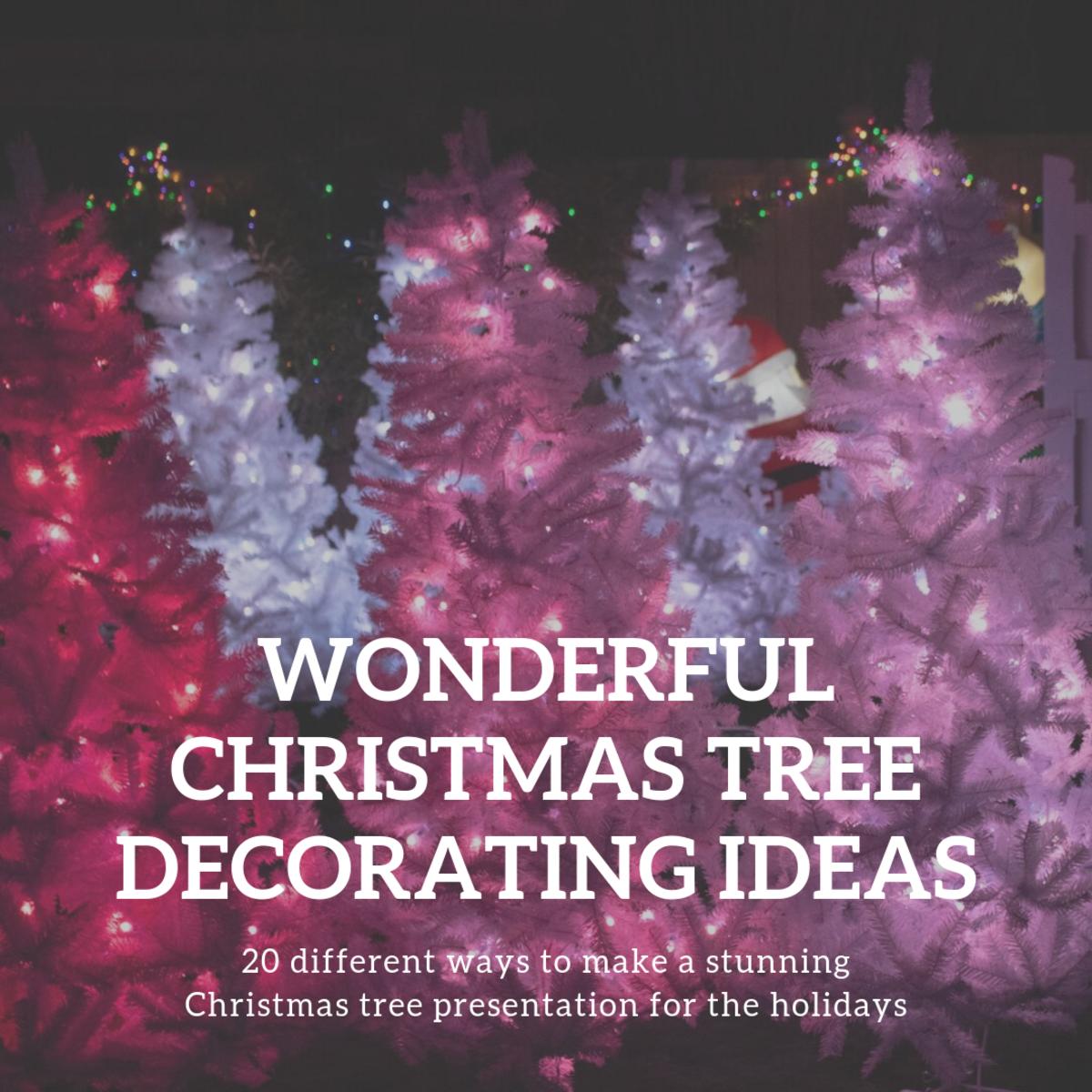20 Stunning Christmas Tree Decorating Ideas