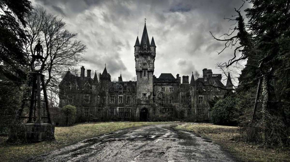 Could this eerie place be haunted?