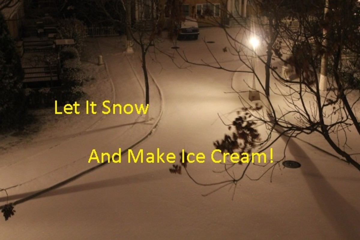 Recipe for Snow Ice Cream From the Blizzard of 1978