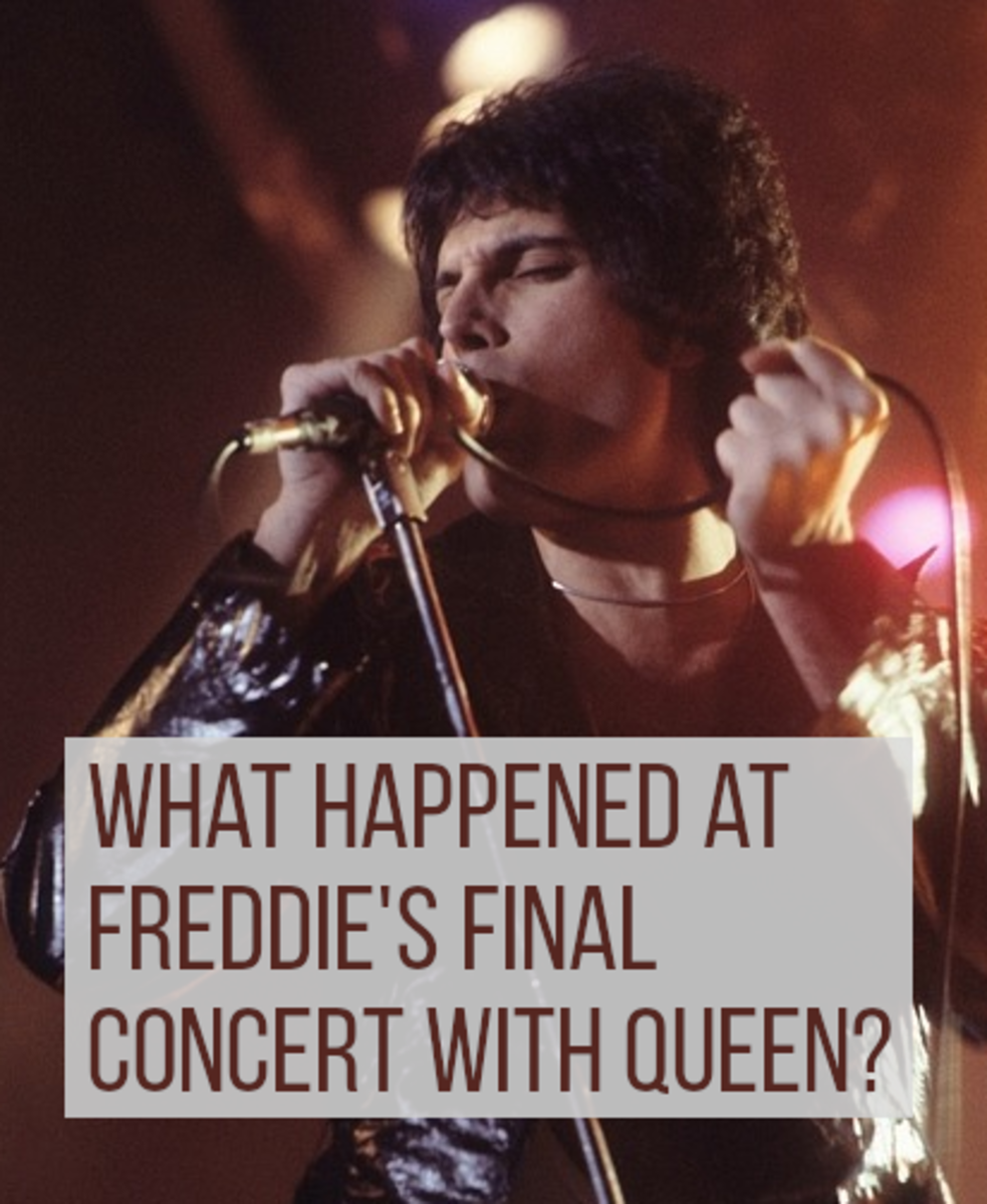 Freddie Mercury was one of rock and pop music's greatest singers and showmen.