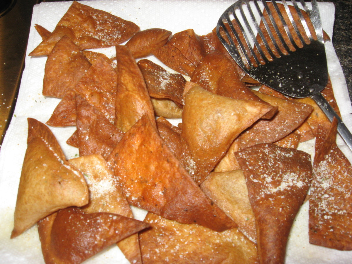 Make homemade low-carb tortilla chips in many different flavors!