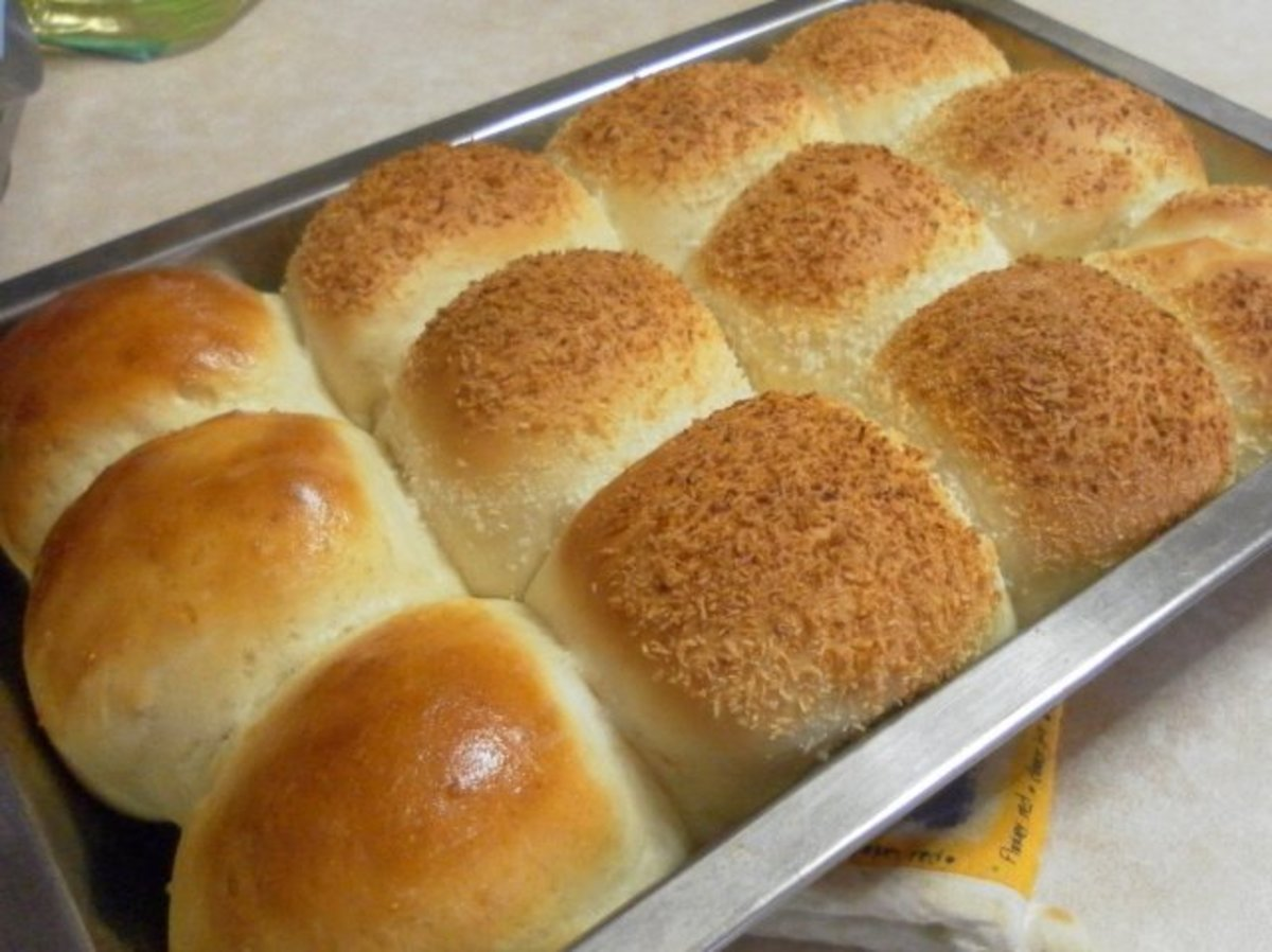 How To Make Sweet Bread Buns - Recipe For Soft & Fluffy Buns