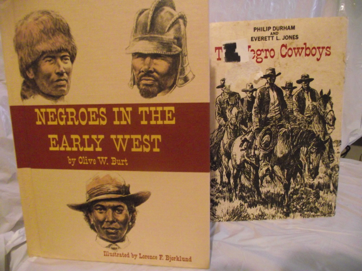 Books about Negro Cowboys