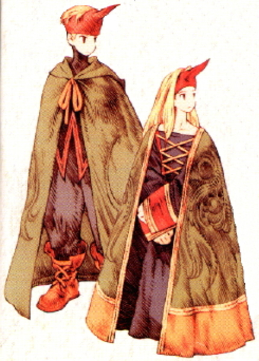 I wrote this article to have an excuse to showcase the awesome character art from Final Fantasy Tactics. Yes, I love this game. But check out these summoners! What's not to love?