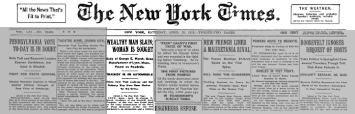 Marsh's murder was headline news.