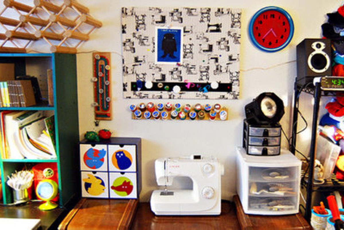 Craft Room Studio Storage Organization: Tips and Ideas