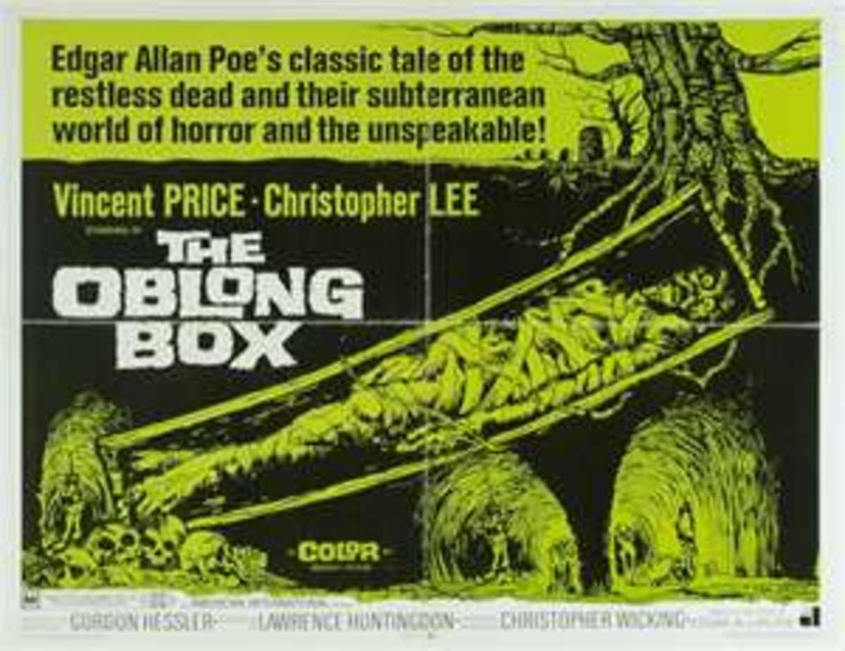"""Edgar Allen Poe: """"The Oblong Box"""""""