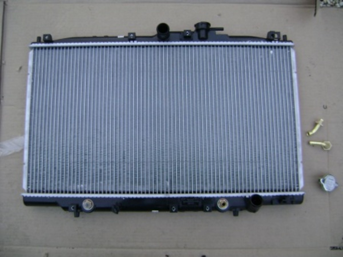 Replacing the Radiator on the Honda Accord or Acura CL (F23)