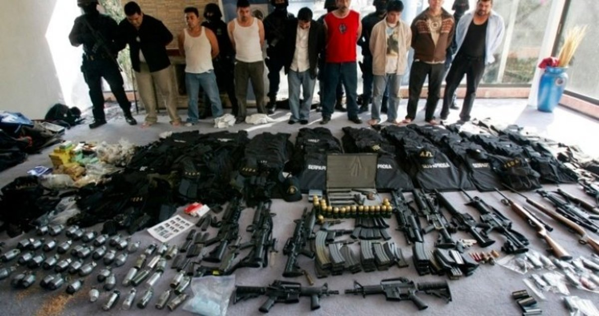 Cartel members busted by Mexican authorities