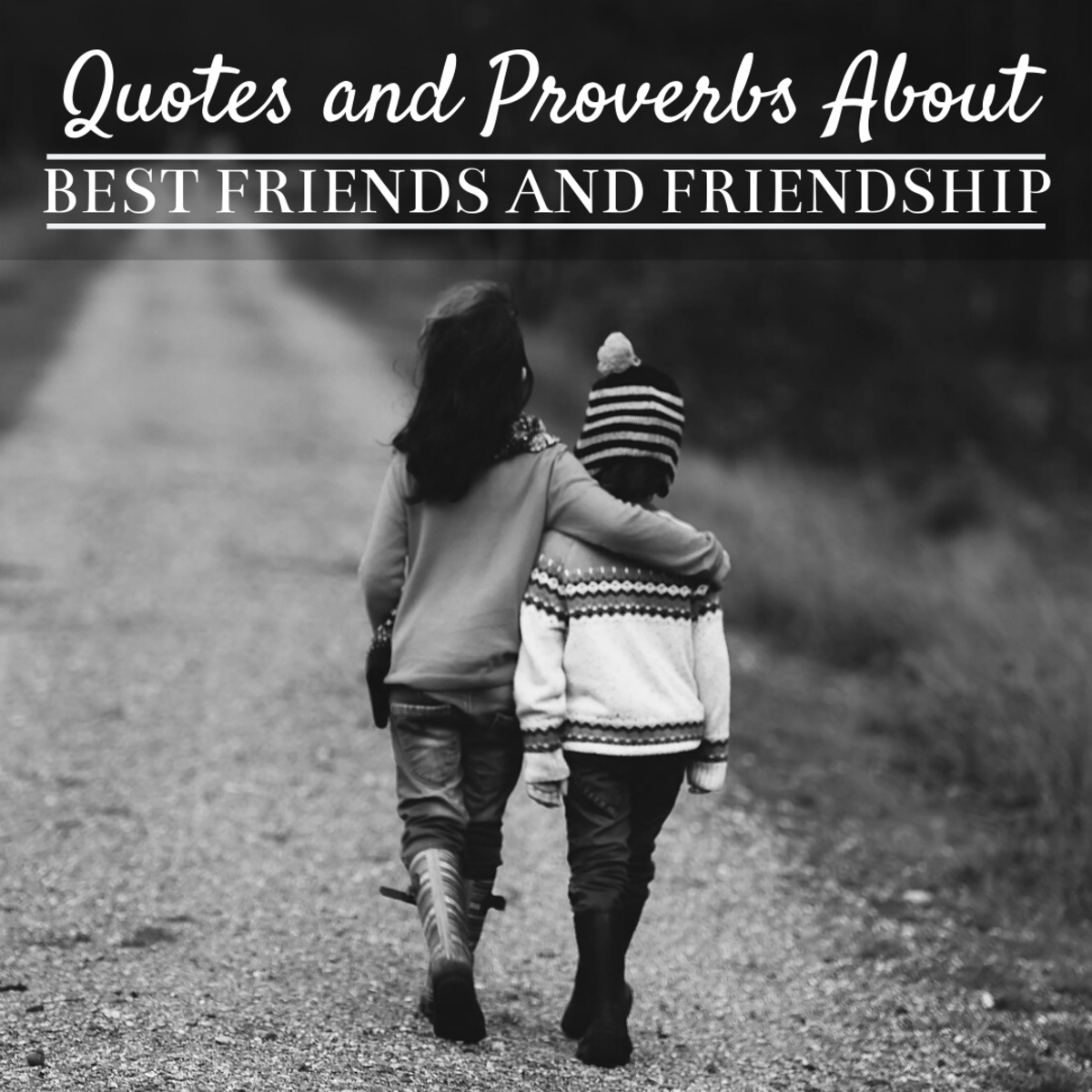 Best Friends: Quotes, Sayings, and Proverbs About Friendship