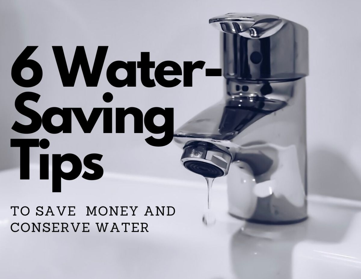 Something like a leaky faucet can end up costing you quite a bit of money.