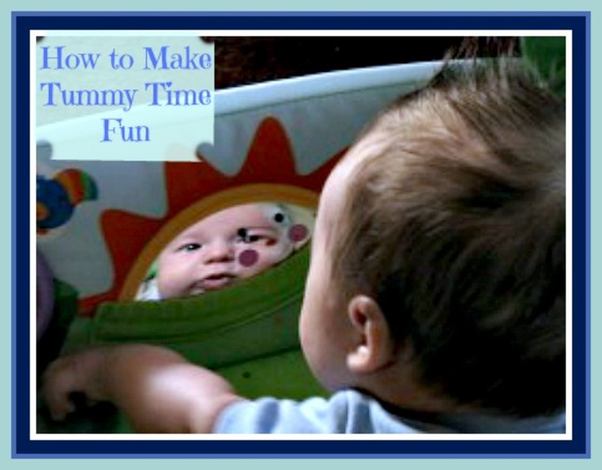 Learn how to make tummy time fun for your baby!