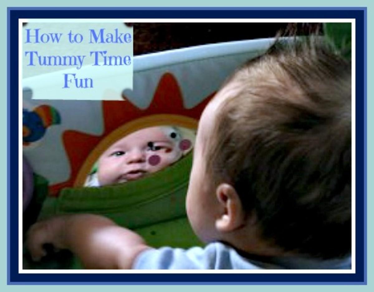 How to Make Tummy Time Fun