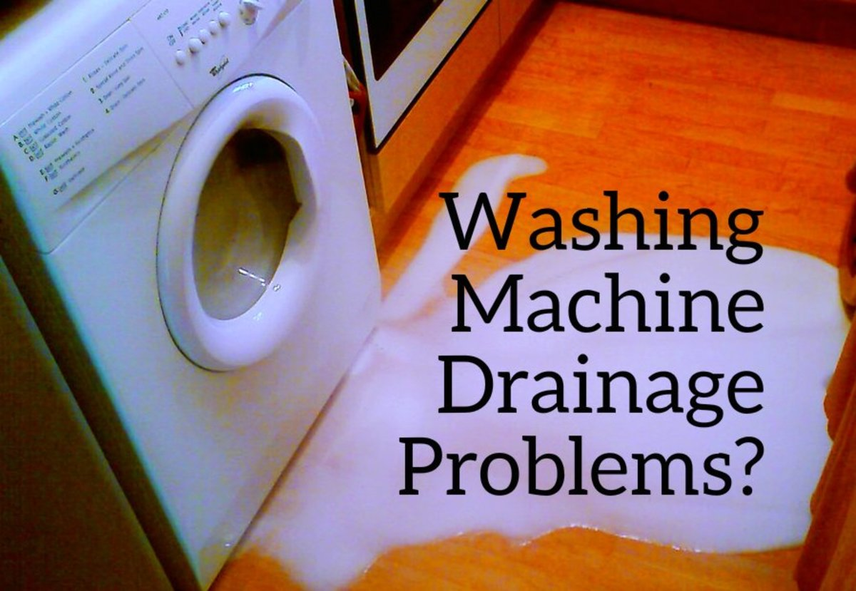 How to Fix Washing Machine Drain Pipe Overflow