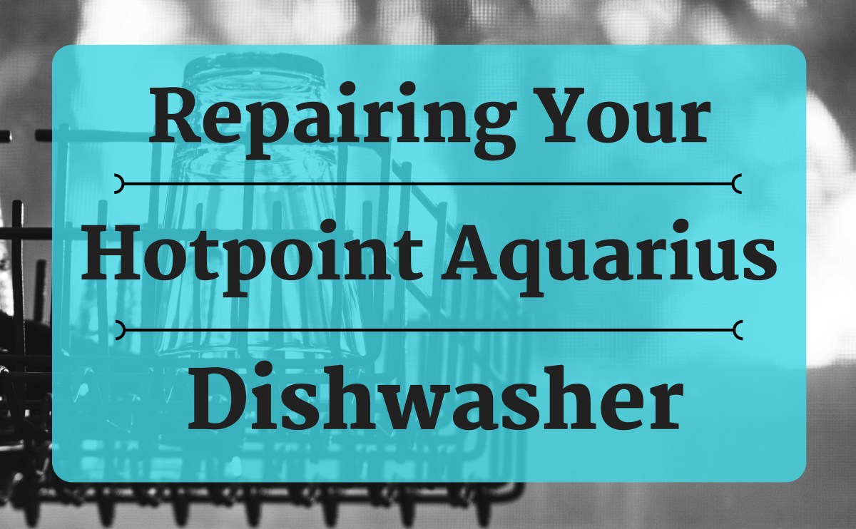 Instead of paying high fees to have a professional fix your Hotpoint Aquarius FDW60, this guide will show you how to conduct your own repair of a clogged filter and/or faulty pump in your dishwasher.