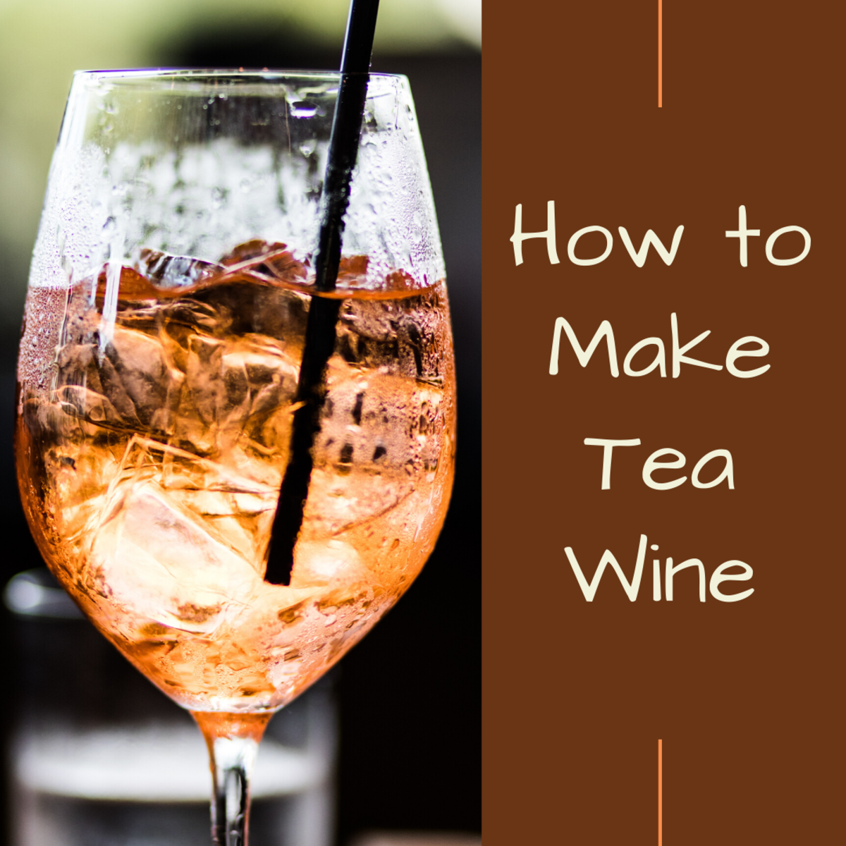 Love tea? Love alcohol? Why not have both at the same time. Learn how to make tea wine.