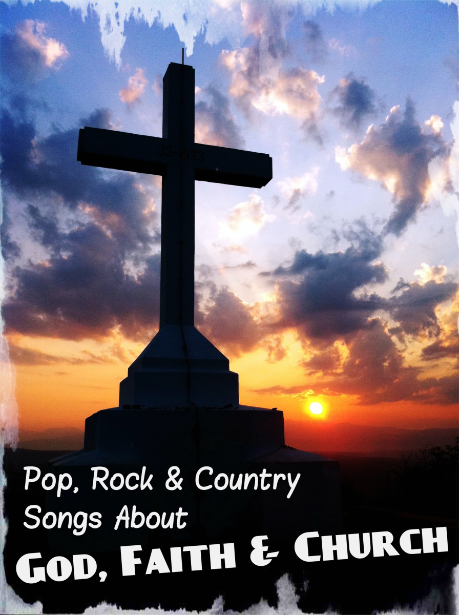 Secular pop, rock, and country music is filled with songs about God, faith, and church.  Celebrate your spirituality with popular music about faith.