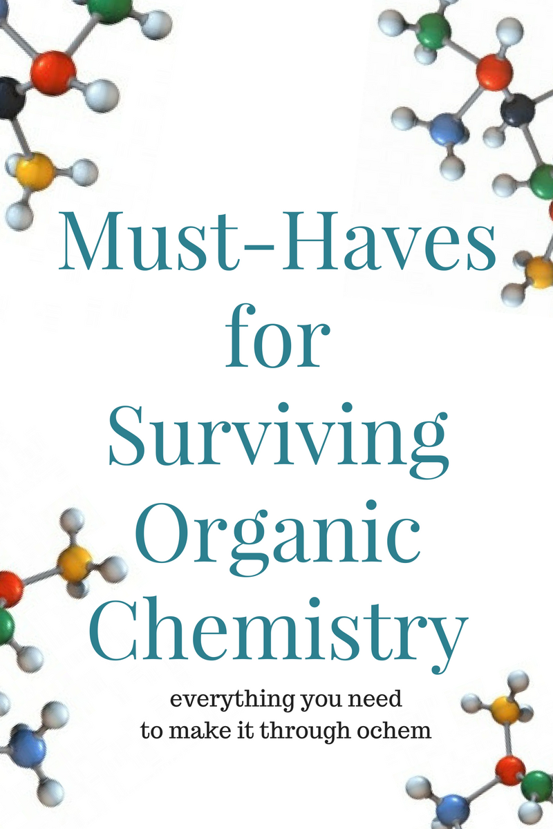 Tips for Passing Organic Chemistry