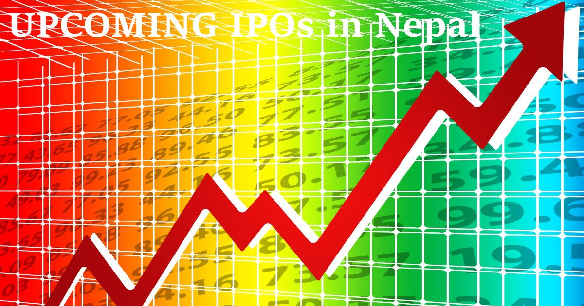 List of Upcoming Initial Public Offerings (IPO) in Nepal
