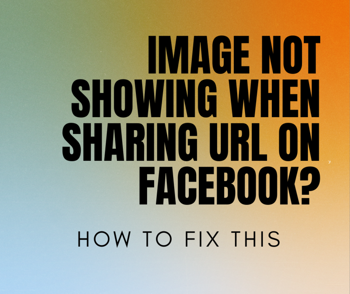 Here are some quick fixes for when an image does not show up when you are sharing a Facebook URL.