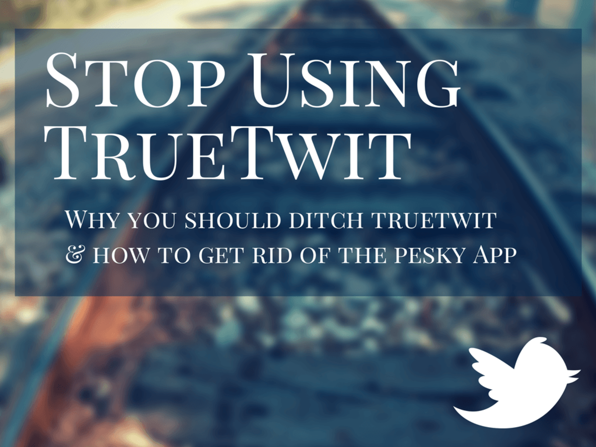 Why you should stop using TrueTwit (and how to disable it.)