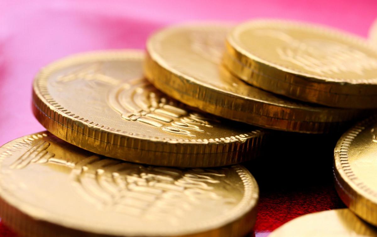 Hanukkah History: Chocolate Gelt Coins