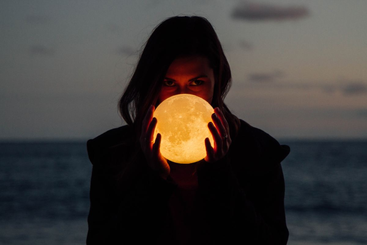 We, witches, pagans and Wiccans all love the moon.