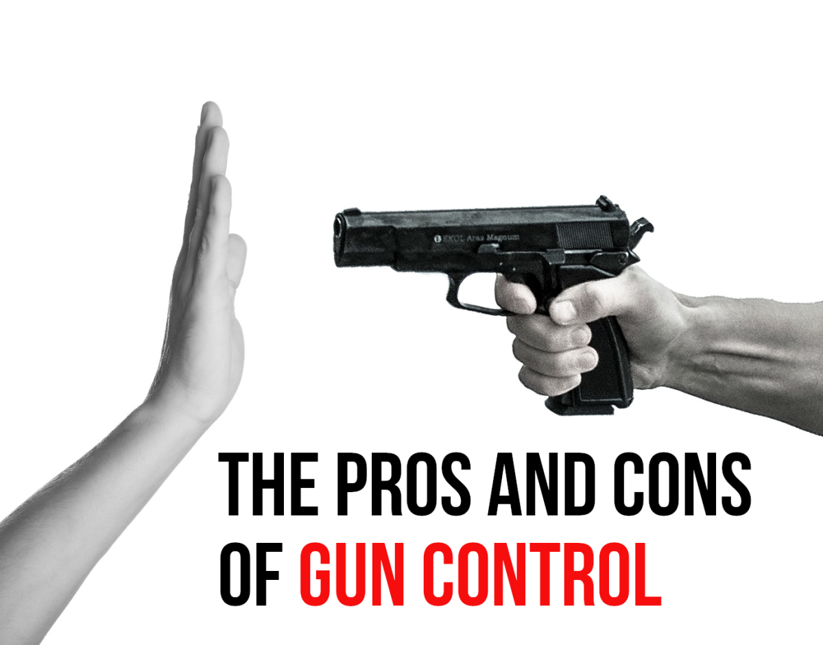 This article looks at the positives and negatives of gun control.