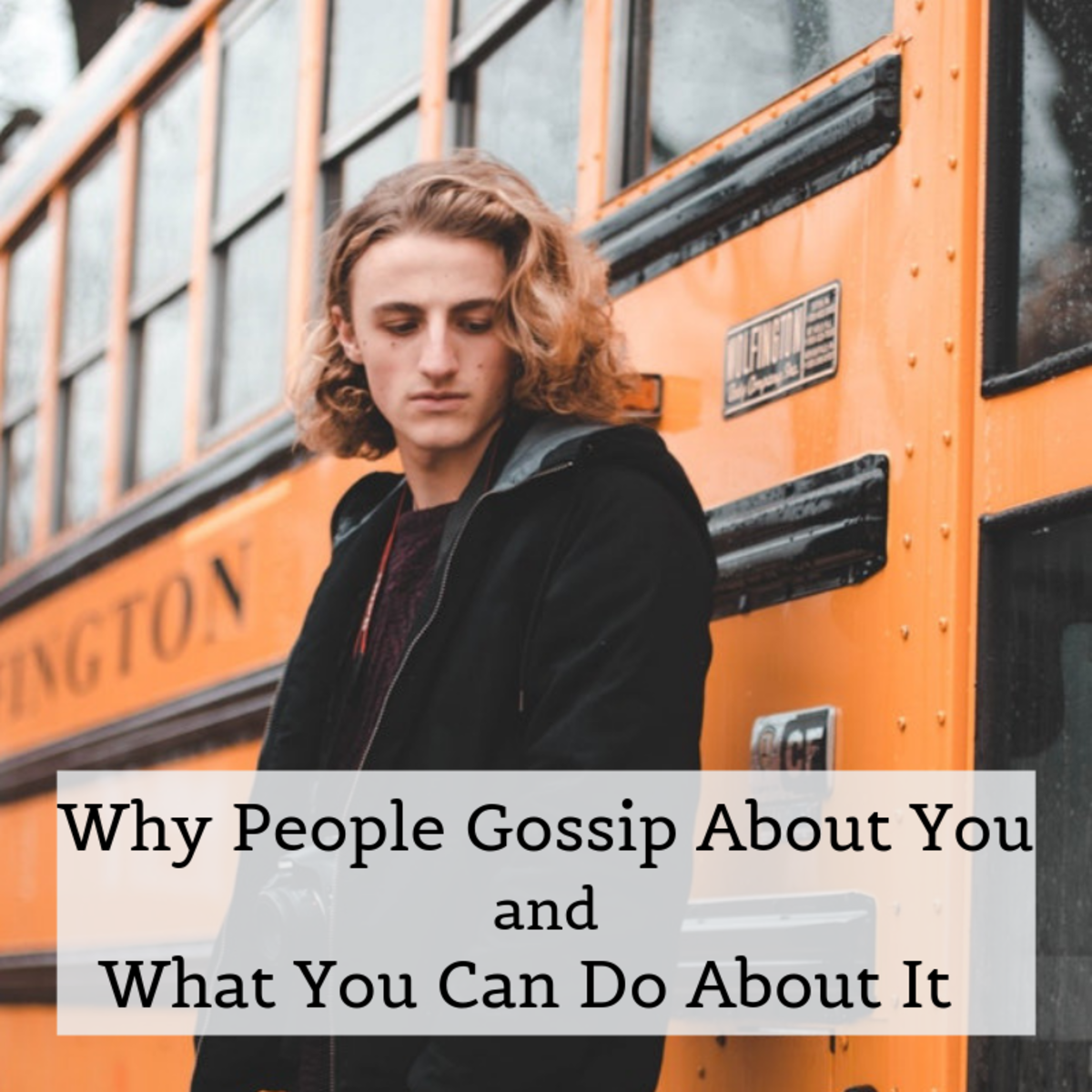 People will always gossip, but you can change the way you think about it when they do.