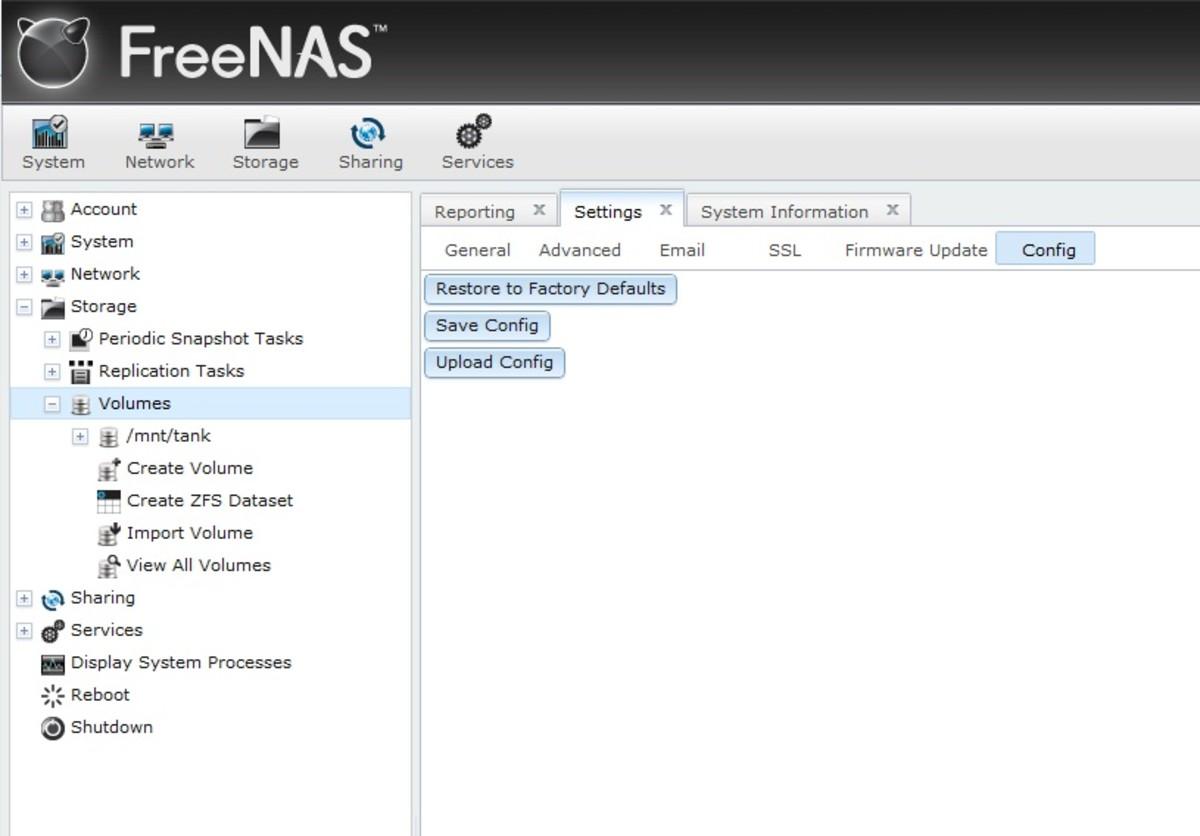 How to Upgrade FreeNAS