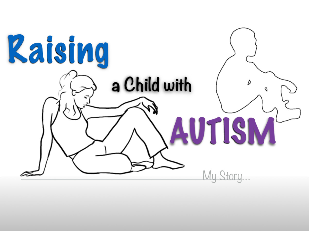 Raising a child with autism, a mother's story.